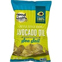 Good Health Avocado Oil Kettle Style Chips with Sea Salt 5 oz. Bag (3 Bags)