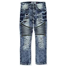 "GS-115 Big Boys' ""Zipped Panel"" Jeans"