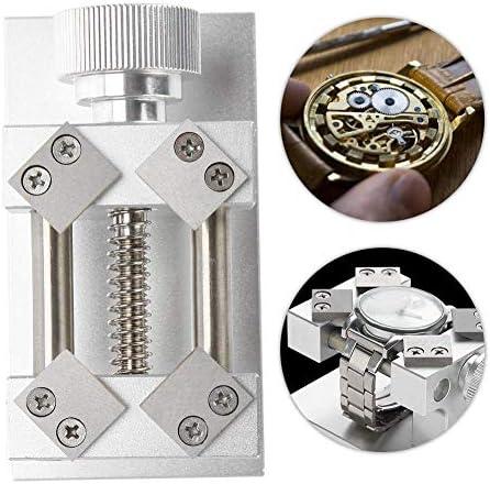 ウォッチベゼルオープナー、レッド/シルバーウォッチベゼルの削除ツールベンチに戻るケースオープナーツール、時計職人ツール,銀
