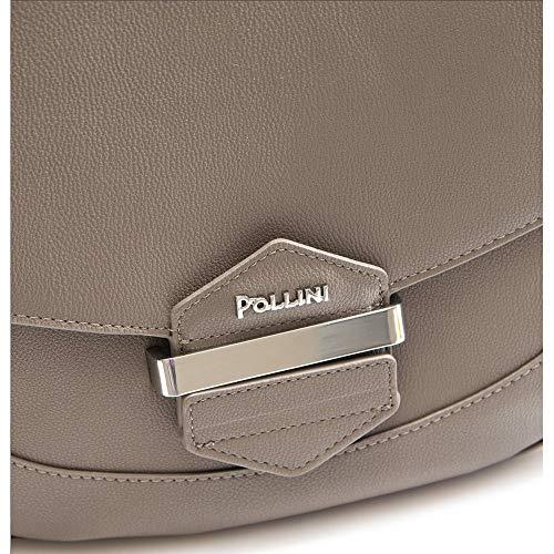 Borsa Donna Bottalato Pollini Silver Taupe Tqd0Bw