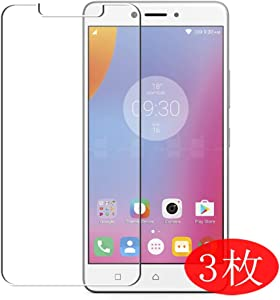 【3 Pack】 Synvy Screen Protector for Lenovo K6 Note TPU Flexible HD Film Protective Protectors [Not Tempered Glass]