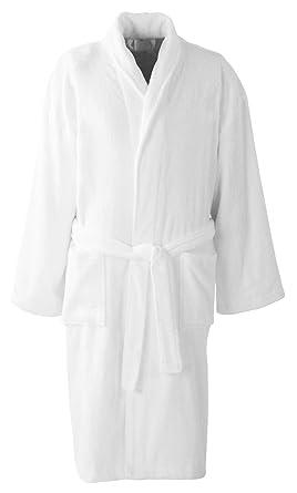 Albornoz Unbranded de tela de toalla de algodón, ideal para casa, hotel y spa