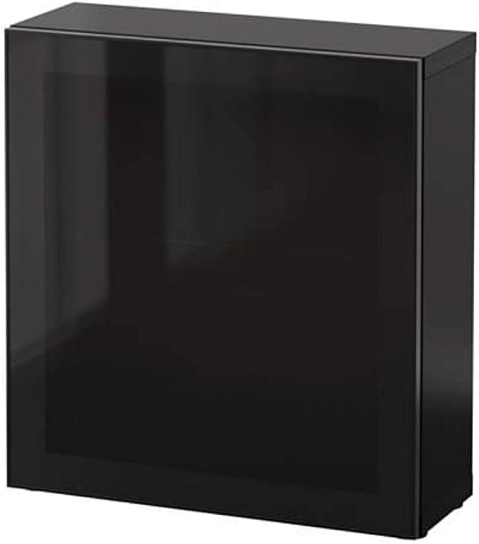 IKEA Besta - Estantería con puerta de cristal (cristal ...