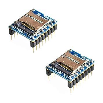 iHaospace WTV020 - Módulos de Sonido para Tarjeta Mini SD (2 ...