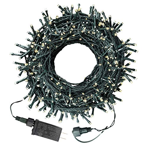 75FT 200LED Christmas Lights, Twinkle LED Mini String Lights for Christmas Trees Wreath Garland Holiday Indoor Outdoor Decoration, Warm White (Twinkle Christmas Lights Led)