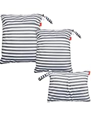 Damero 3pcs Travel Wet and Dry Bags for Cloth Diapers