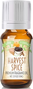 Harvest Spice Scented Oil by Good Essential (Premium Grade Fragrance Oil) - Perfect for Aromatherapy, Soaps, Candles, Slime, Lotions, and More!