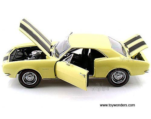 39305yl Rc2 Ertl Authentics - Chevy Camaro Rs/ss (1967, 1:18, Yellow) 39305 Diecast Car Model 1 18 Vehicle Toy Auto Automobile Metal 18 Ertl Diecast Model