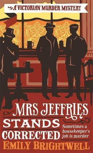 book cover of Mrs Jeffries Stands Corrected