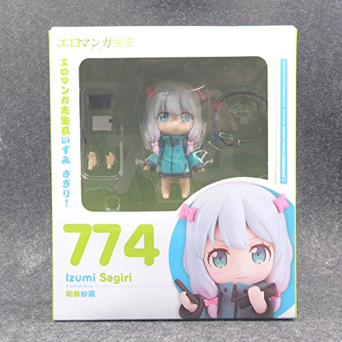 Amazon.com: Izumi Sagiri Q Version Masamune Izumi Sexy Anime Action Figure Pvc New Collection Figures Toys Collection For Christmas Gift: Toys & Games