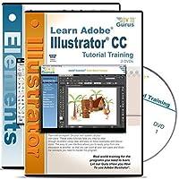 Adobe Illustrator CC Tutorial & Adobe Photoshop Elements 13 Training 4 DVDs List Price $79.95