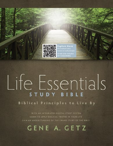 Life Essentials Study Bible, Hardcover: Biblical Principles to Live By pdf
