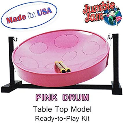 Panyard Jumbie Jam Deluxe Steel Drum Kit Chrome W1082