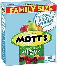 Mott's Medleys, Assorted Fruit Snacks, Gluten Free, 3