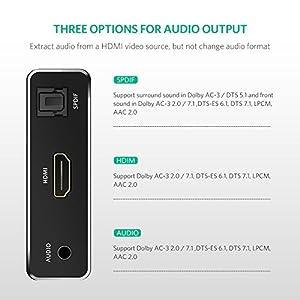 UGREEN HDMI Audio Splitter – Cheeky bit of kit! – Hi-FiAudio