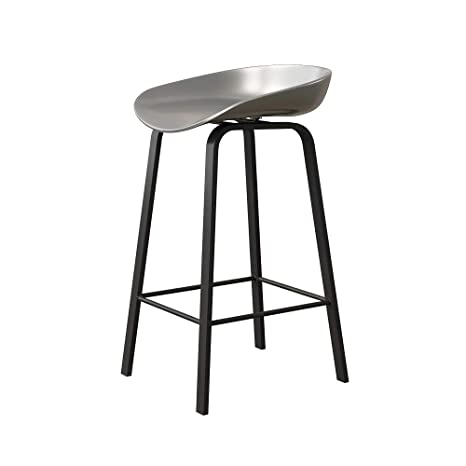 Collections Of Black Material Bar Stools