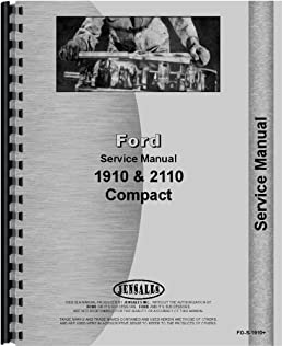 ford tractor service manual fo s 1910 ford 6301147667670 rh amazon com Ford 4630 Tractor Wiring Diagram 9N Ford Tractor Wiring Diagram
