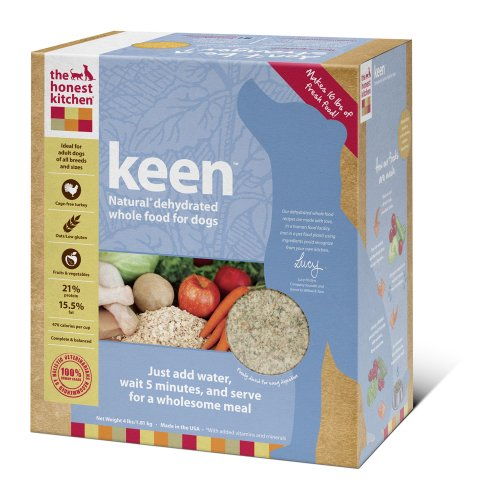 The Honest Kitchen Keen Dehydrated Dog Food, 4-Pound, My Pet Supplies