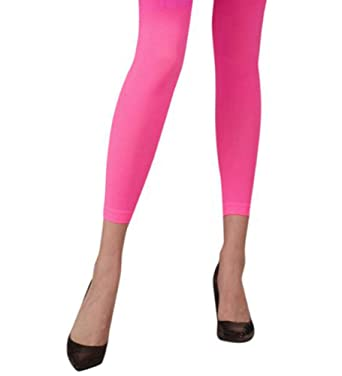 e26922a5dc Neon Pink Footless Tights: Amazon.co.uk: Toys & Games