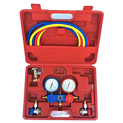 Used, Jialili 2 Way AC Manifold Gauge Set R134a r134 R410A for sale  Delivered anywhere in USA
