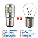 1157 Bay15D P21/5w LED Bulb, DC10-30V 6W With Projector Super Bright 6000K, For Car Brake Lights, Parking Tail, Stop…