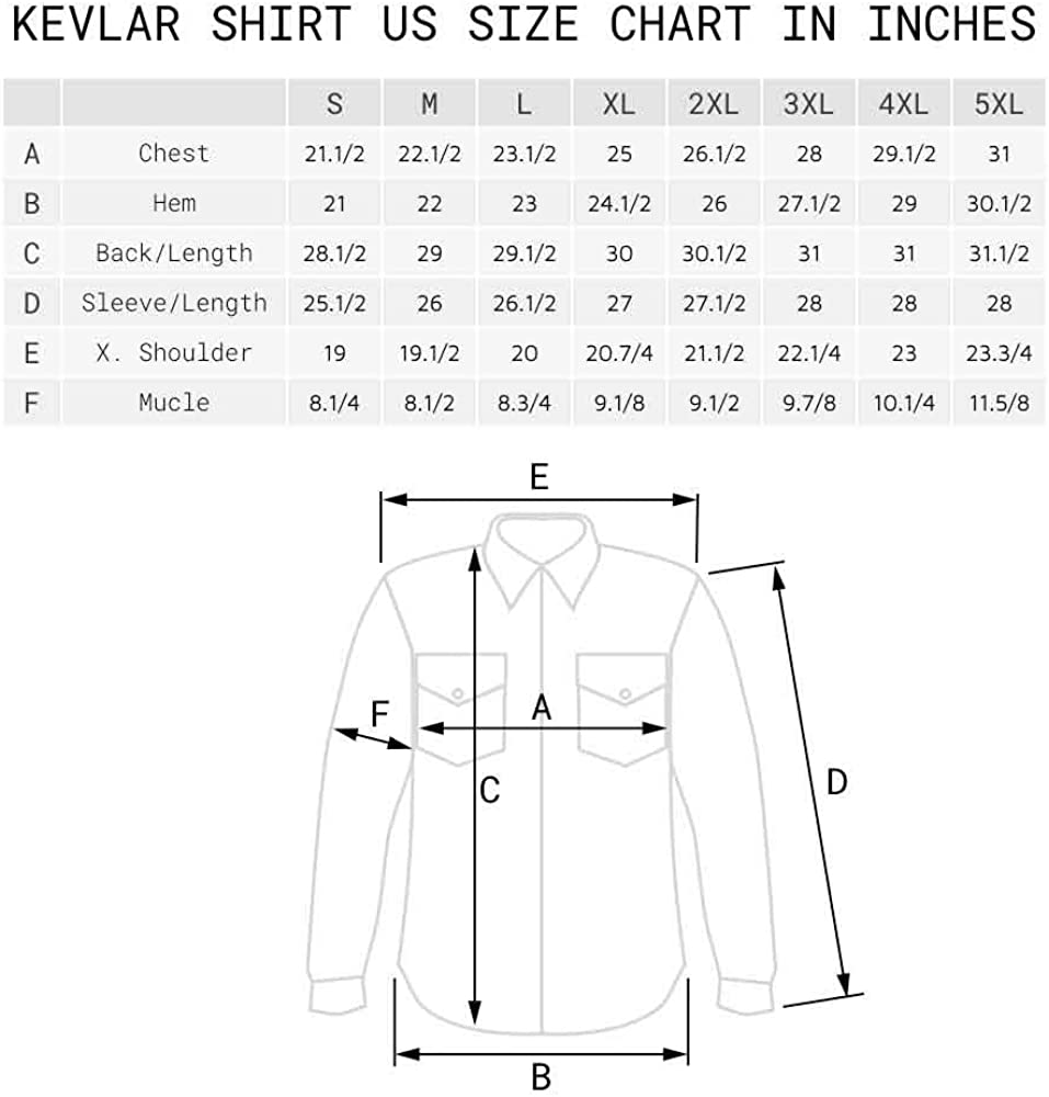 Road Armor Long Sleeve Kevlar Shirt