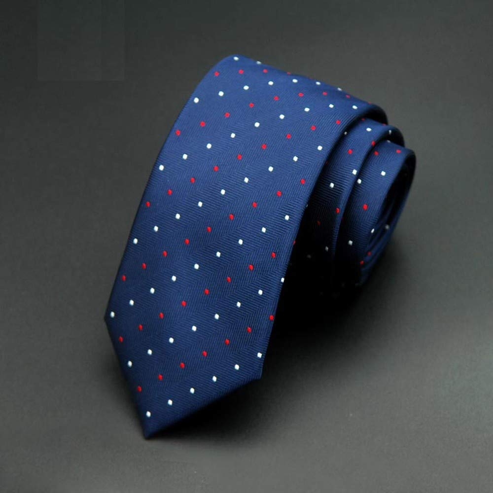 QEHWS Corbata Boda A Cuadros del Novio De Slim Tie Lunares: Amazon ...