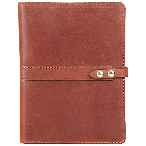 Leather Business Portfolio Case for Tablets iPad Folio Br...