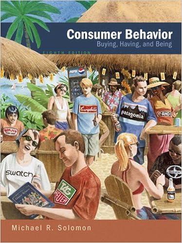 Consumer behavior 8th edition michael r solomon 9780136015963 consumer behavior 8th edition michael r solomon 9780136015963 amazon books fandeluxe Gallery