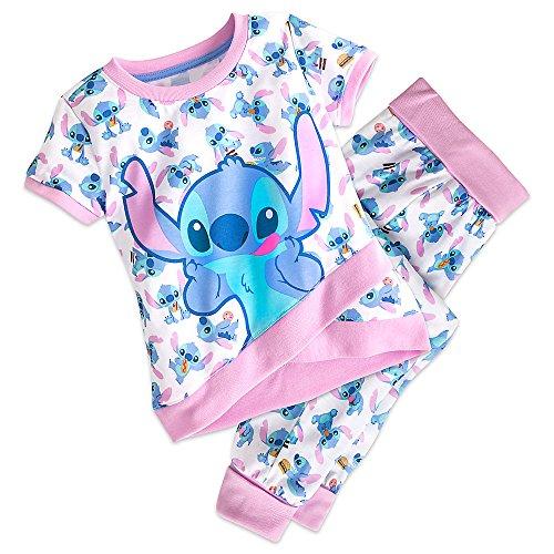 Disney Stitch Sleep Set Pajamas for Girls Size 2