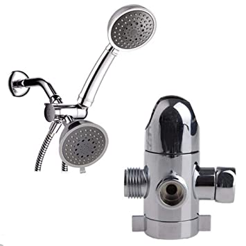 Shower Head Diverter Valve.Amazon Com Gykfy 1 2 Inch T Adapter Valve Shower Head