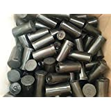50 Pack of Black 13 Dram Pop Top Bottle Rx Vial Medical Grade Pill Box Herb Container