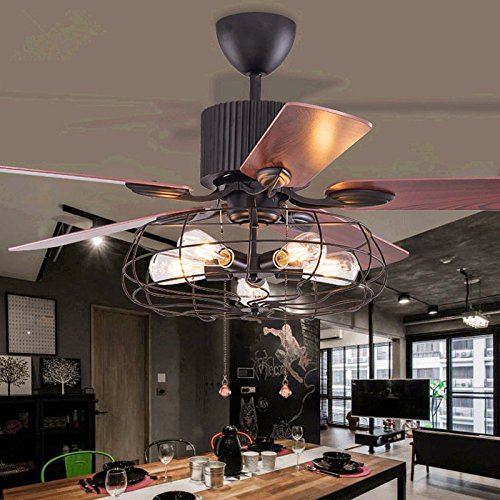 Retro-RS-Lighting-Wood-Blades-Wrought-Iron-Shade-Fan-Lamp-for-Dining-Room-Bedroom-Restaurant-48-Inch