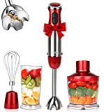 KOIOS Powerful 4-in-1 Hand Immersion Blender
