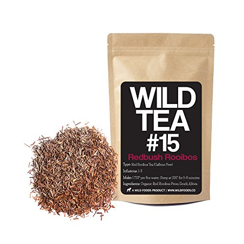 Red Rooibos Loose Leaf Tea, South African Rooibos Herbal Tea, Organically Grown, Single-Origin Wild Tea #15 by Wild Foods