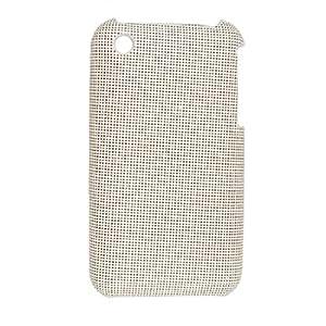 Comprobado imitación de cuero recubierto de plástico de la cubierta para el iPhone 3G