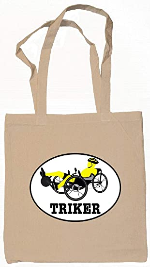 Amazon com: Triker Recumbent Trike Bike Tote Bag Natural: Kitchen