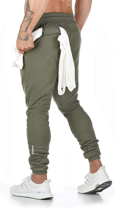 pantalones de deporte pantalones de deporte para exteriores informales pantalones de ch/ándal para hombre de algod/ón Pantalones de ch/ándal para hombre