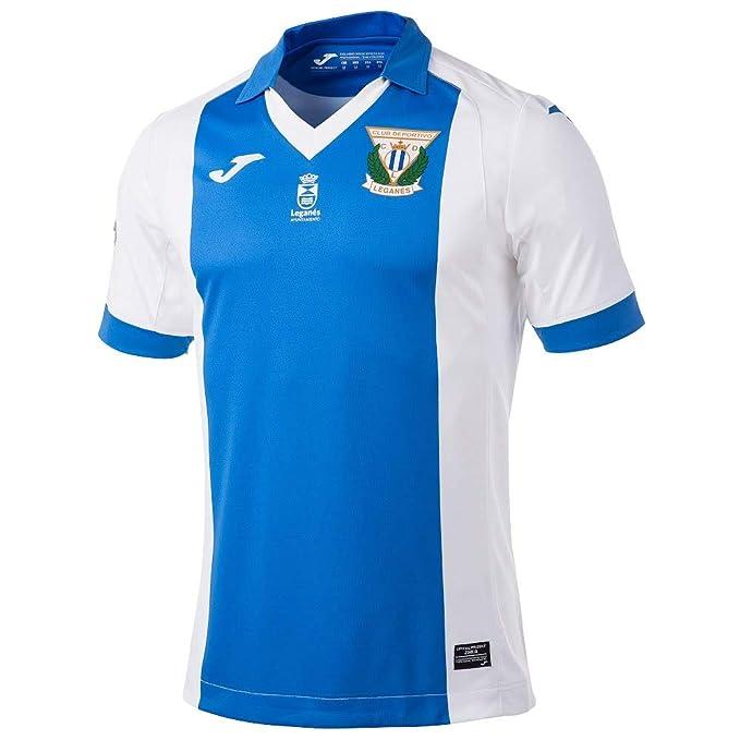 Joma - LEGANES 1ª Camiseta 17/18 Hombre Color: Azul Royal Talla ...