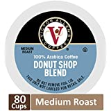 Donut Shop Blend for K-Cup Keurig 2.0 Brewers, 80 Count, Victor Allen's Coffee Medium Roast Single Serve Coffee Pods