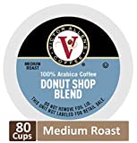 Donut Shop Blend for K-Cup Keurig 2.0 Brewers 80 Count Victor Allen s Coffee Medium Roast Single Serve Coffee Pods