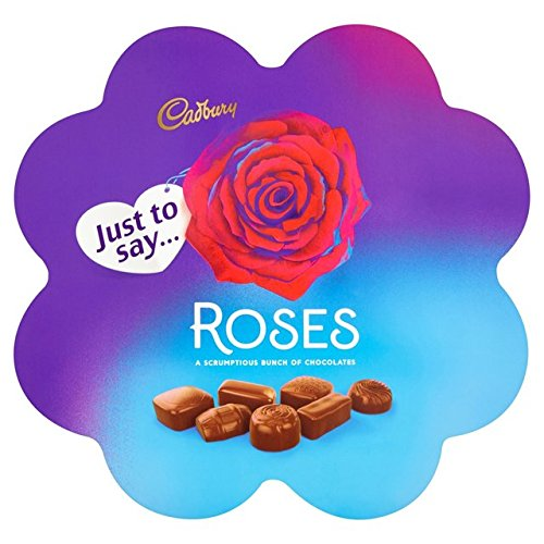 Original Cadbury Roses Flower Box Chocolates Imported From The UK England The Best Of British Chocolates Cadbury Roses Flower Chocolate Gift Box -