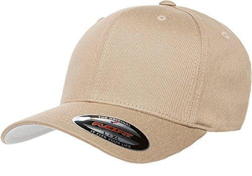 Flexfit Premium Original Fitted Hat XX-Large Khaki
