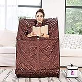 Tinfancy Portable Steam Sauna, 2L Personal