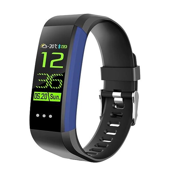 Wokee Smart Watch - Reloj deportivo multifuncional para actividad física, monitor de ritmo cardíaco,