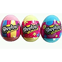 Shopkins SEASON 4 Surprise Easter Egg LOT OF 3 EGGS ~ NEW by unbranded
