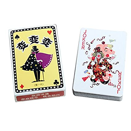 VIDOO Kingmagic Magic Poker Cartas Magic Juguete Apoyos ...