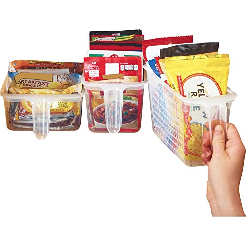 - Perfect Pantry Basket Organizers - Set of 3