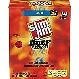Product of Slim Jim Beef 'n Cheese (1.5 oz, 14 pk.) - Jerky [Bulk Savings]