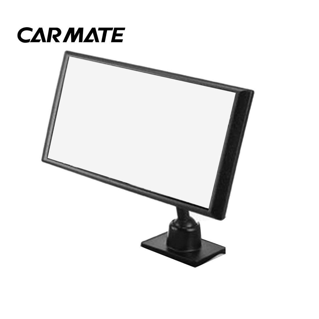 Specchietto retrovisore auto CARMATE CZ409 per la sicurezza dei bambini sul sedile di sicurezza Specchio di osservazione all'interno dello specchio ausiliario - nero Formulaone